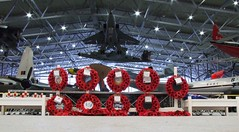 LEST WE FORGET IWM DUXFORD (Fleet flyer) Tags: november museum memorial wreath poppy poppies duxford rememberance cambridgeshire imperialwarmuseum iwm iwmduxford