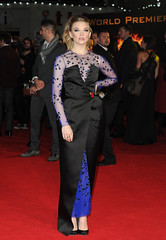 Natalie Dormer (quarterquell) Tags: uk black london film movie evening long dress fulllength premiere nataliedormer