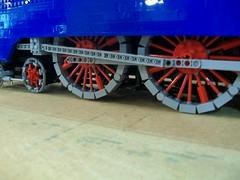 Mallard (TechnicNick) Tags: speed train lego engine locomotive mallard streamlined