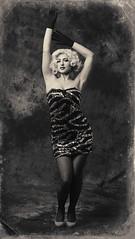 Posed (vineetsuthan) Tags: blackandwhite fashion dubai photoshoot marilynmonroe uae conceptual elinchrom fashionphotographer vineetsuthan muhaisana4