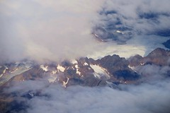 Swiss Alps from the air (cnmark) Tags: mountains alps clouds switzerland europe view swiss aerial ©allrightsreserved