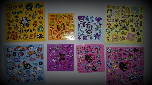 MLP Pop Stickers