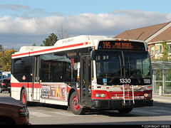 Toronto Transit Commission #1330 (vb5215's Transportation Gallery) Tags: toronto ttc transit orion ng commission vii 2007 hev