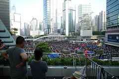 Umbrella Revolution #142 () Tags: street leica ltm people news umbrella hongkong democracy movement day candid voigtlander central protest stranger demonstration revolution hongkongisland admiralty socialevent f40 m9 l39 21mm m39 occupy umbrellarevolution voigtlander21mm leicam9 occupycentral