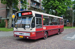 Laatste rit op laatste dag.... (GVB813) Tags: west bus amsterdam micro midi bushalte busstation afscheid gvb eindpunt neoplan bussen geuzenveld 590 gvba hainje midibus gvbamsterdam lijn21 laatsterit gvb590 bram590