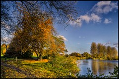 Burton Upon Trent-041 (John@photosuite) Tags: uk bw abbey river landscape blackwhite nikon riverside group trent 100 staffordshire comment bankside breweries burtonupontrent 100commentgroup