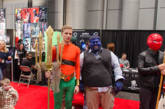 Aquaman and Beast(?) Cosplay (vince.ng86) Tags: cosplay comiccon aquaman nycc nycc2014