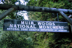 "Muir Woods Natl Monument sign • <a style=""font-size:0.8em;"" href=""http://www.flickr.com/photos/34843984@N07/15360445127/"" target=""_blank"">View on Flickr</a>"