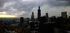 Rain (bradhoc) Tags: autumn chicago fall rain weather clouds chicagoist