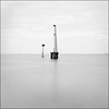 Port Melbourne Lighthouse (beninfreo) Tags: longexposure blackandwhite bw lighthouse square melbourne highkey portmelbourne bw110 bigstopper bw30nd