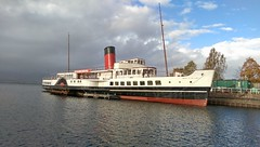 Maid of the Loch,  Balloch (david-gilmour) Tags: heritage scotland restoration balloch lochlomond paddlesteamer maidoftheloch