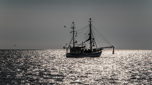 Fishing Cutter; Fischkutter (16:9)