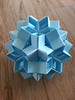 Snapology Dodecahedron With Stars(3 Fold)