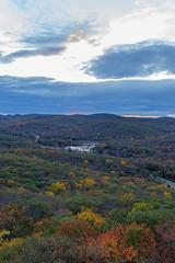 Fall Foliage @ Dusk (saebaryo) Tags: ny canon bearmountain foliage 1635mm canon1635mmf28lii canoneos5dmarkiii 5d3 5diii