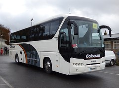 Coliseum Coaches WCR 474 Barnham Station 19/10/14 (jmupton2000) Tags: travel man bus coach group replacement rail coliseum bournemouth coaches ecv neoplan lucketts tourliner