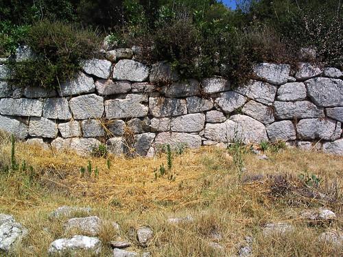 Lykosoura, Arkadia: polygonal masonry 3