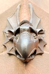 Notre Dame Strasbourg Devil (Francis Johns) Tags: architecture pentax notredame strasbourg alsace