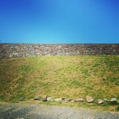 Runas das muralhas de Colnia (Yuri Bittar) Tags: square squareformat unknown iphoneography instagramapp uploaded:by=instagram