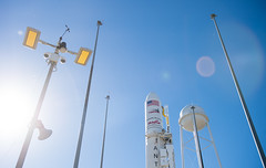 Orb3 Antares Preparation (201410260005HQ) (NASA HQ PHOTO) Tags: usa nasa va cygnus antares wallopsisland orbitalsciencescorporation nasawallopsflightfacility joelkowsky midatlanticregionalspaceportmars orbital3 orbital3resupplymission