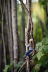 Wanderlust Traveler Series (christierache) Tags: macro tree photography miniature photographer cities twin climbing hoover conceptual zev minneapolisphotographer christierachelle wanderlusttraveler