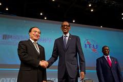 ITU Plenipotentiary Conference - Busan, 28 October 2014 (Paul Kagame) Tags: busan itu gem republicofkorea pp14 28102014 ©ituhjkim gemtechaward bexcoconferencecenter 28october2014