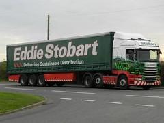 PN12VOG H6465 Eddie Stobart Scania 'Jaqueline Sarah' (graham19492000) Tags: eddie scania stobart eddiestobart h6465 pn12vog jaquelinesarah
