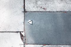 Sidewalk Secrets (Tim Roper) Tags: abstract lines concrete triangle minimal sidewalk cracked rectangles minimalsim
