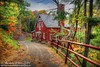 Balmoral Grist Mill (sminky_pinky100 (In and Out)) Tags: autumn red canada fall mill museum landscape wooden pretty novascotia path scenic foliage colourful fallcolours balmoralgristmill omot cans2s exhibitionoftalent masterclassexhibition masterclasselite