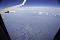 Flying over Northwestern Ontario (awaketoadream) Tags: above canada fall plane canon eos october air lakes canadian shield glacial 2014 60d