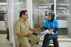 IMG_4212 (FAO ECTAD Indonesia) Tags: market visit jakarta 2014 lbm mentoring melawai