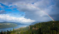 Pot 'O Gold (fotostevia) Tags: clouds river columbiarivergorge vistahouse chanticleerpoint pentaxart portlandwomensforumpark sigma1770mmf284dcmacrohsmcontemporary