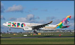 A6-EYH Airbus A330-243 Etihad Airways (EXPO Milano 2015)