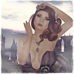 Queen of the Castle (3) (EvionEmber) Tags: ikon flair mavie thelookingglass pxl slink izzies prtty analogdog leezu pxlcreations earthstones