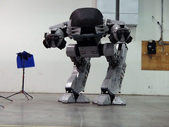 2nd ED in Warehouse (thorssoli) Tags: robot replica robocop prop ed209