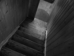 dark steps (tobsest) Tags: white black art monochrome lumix steps sigma panasonic treppe g5 horror weiss f28 schwarz dunkel 30mm dmcg5