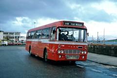 Highland T89 1230hrs Oban to Fort William October 1981 (return2layerroad) Tags: scotland oban alexander fortwilliam highlandomnibuses fordr1114 bst889m