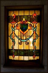 Woodmere Cemetery: Stained Glass, Gumm Mausoleum--Detroit MI (pinehurst19475) Tags: city cemetery grave michigan detroit stainedglass cementerios gumm woodmere cimiteri woodmerecemetery gummmasoleum