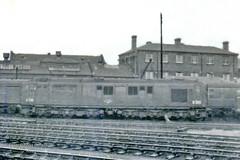 10202 at Derby (Banchango) Tags: blackwhite derby 1963 diesellocomotives trainspottingdays brdiesellocomotives srdiesellocomotive