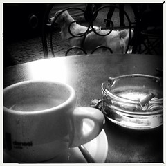 Cafe life , Rome