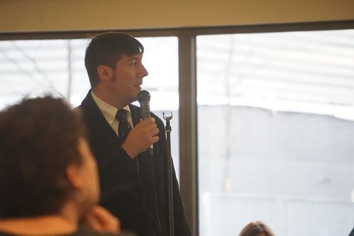 Mitch Champagne (@MitchChampagne) opening talk