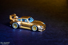Porsche 993 GT2 (ericvilendrerphoto) Tags: gold nikon metallic swap porsche hotwheels custom realriders 993gt2 ericvilendrerphotography ericvphoto