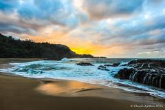 Lumahai_Beachcya-5 (Chuck 55) Tags: sunset hawaii kauai lumahaibeach kauaibeach