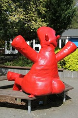 "Big red hippo butt • <a style=""font-size:0.8em;"" href=""http://www.flickr.com/photos/27717602@N03/15575394142/"" target=""_blank"">View on Flickr</a>"