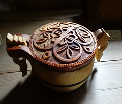 Wooden box with carvings (Anja Jonsson) Tags: carving woodenbox