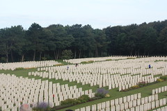 Etaples Military Cemetery, WW1 France.