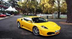 Ferrari F430 (antof1 - av-photography.fr) Tags: california yellow jaune canon t photography eos photo photographie vincent bordeaux sigma ferrari palau av f430 essais concession antonin 60d antof1