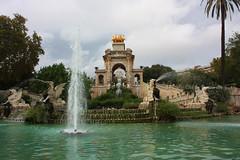 Ciutadella Park (Click by Daniela S.) Tags: barcelona park waterfall parcdelaciutadella
