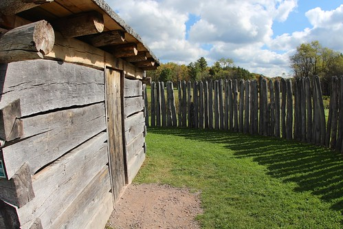 Inside the Fort Necessity
