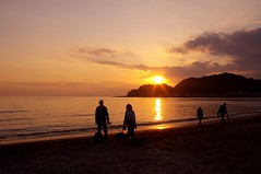"Sunset at Kamakura, Japan • <a style=""font-size:0.8em;"" href=""https://www.flickr.com/photos/69809940@N08/15666259115/"" target=""_blank"">View on Flickr</a>"