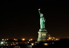Statue Of Liberty At Night (HorsePunchKid) Tags: statueofliberty